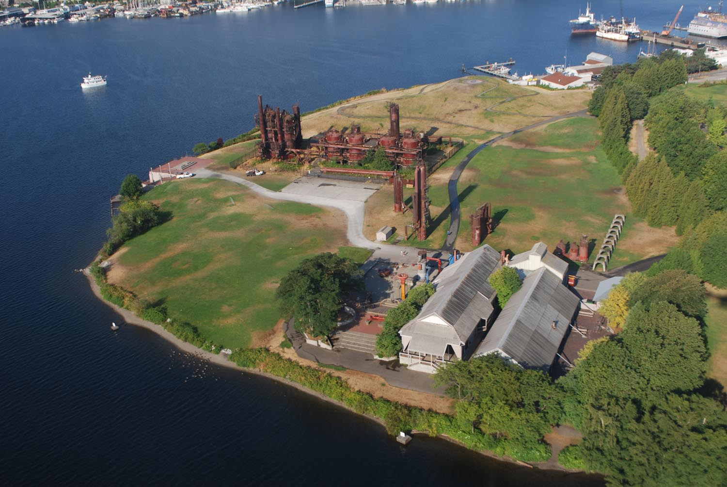 Gas Works Park City View
